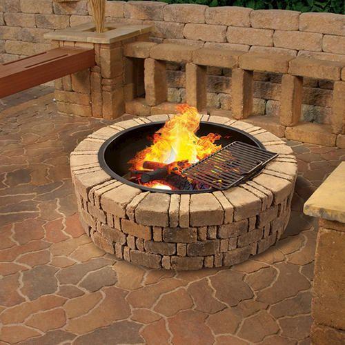 Ashwell Fire Pit Kit   Fire pit, Fire pit kit