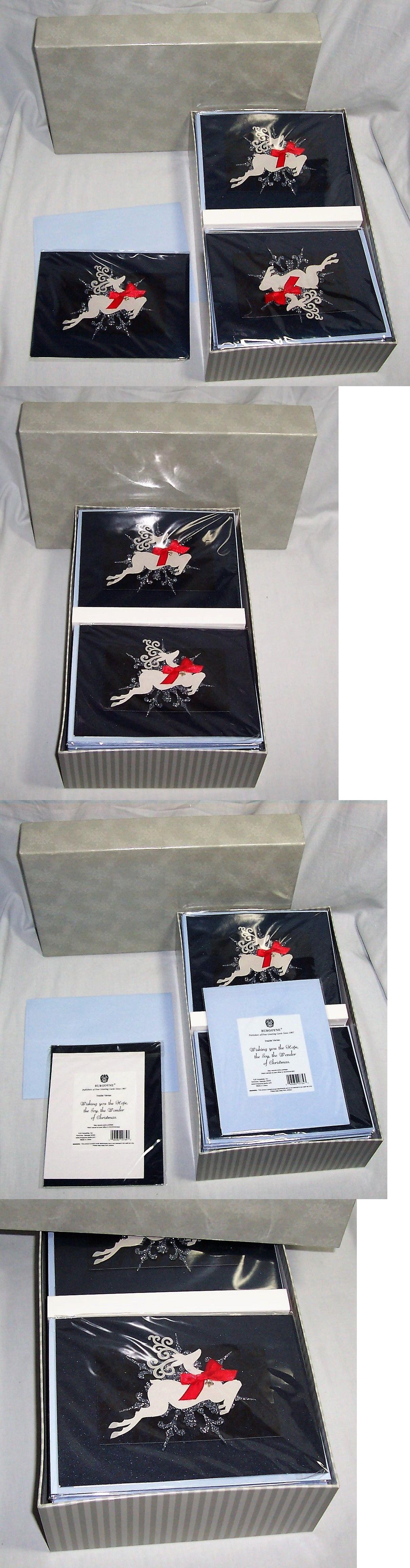 Greeting Cards And Invitations 170098 New Box Of 30 Burgoyne