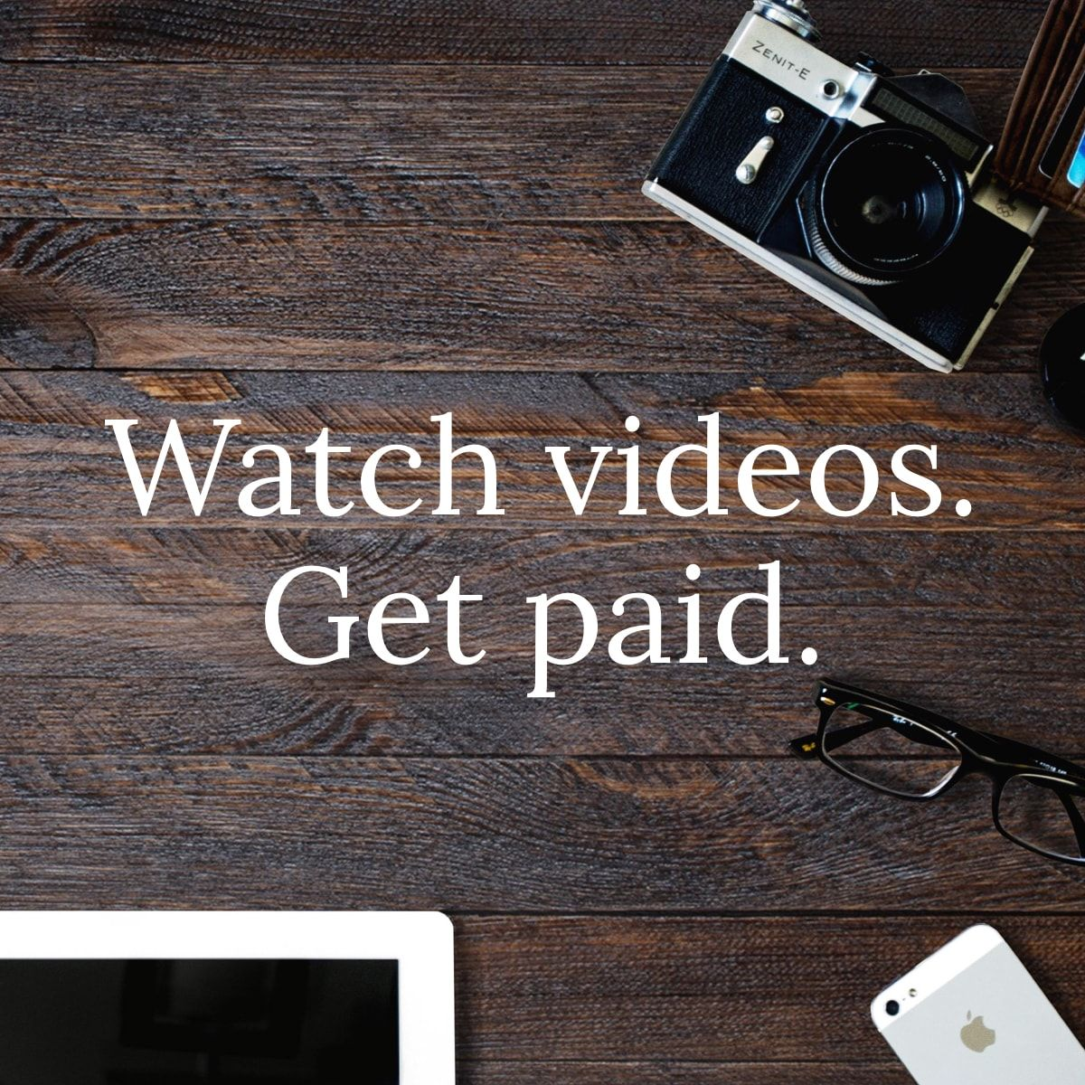 Get paid for watching ads. Your voice is a currency. Use it ...