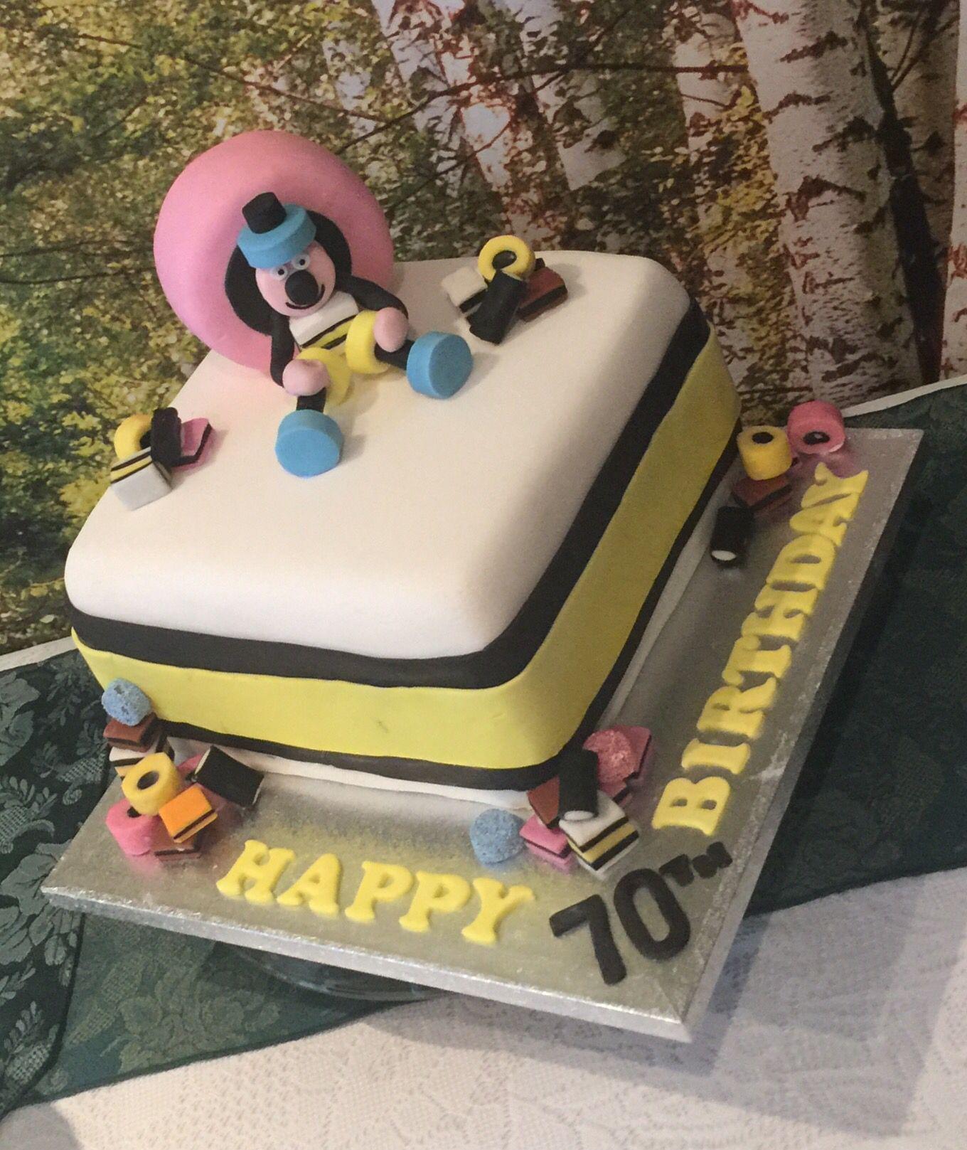 Allsorts Cake Bassett Liquorice Food Pinterest Cake - Formal birthday cakes