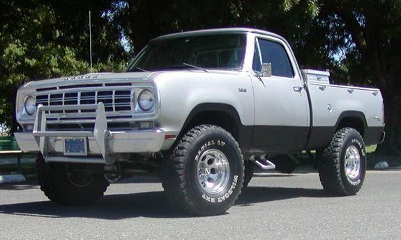 1975 Dodge Power Wagon | Clic Cars | Pinterest | Dodge trucks ...