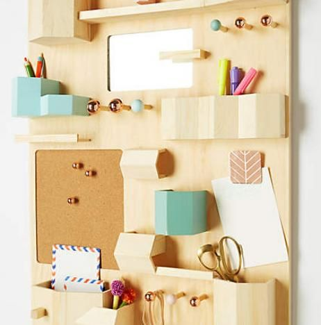 modern office organization. Anthropologie, Home Office, Command Center, Organized Home, Natural Organization Modern Office E