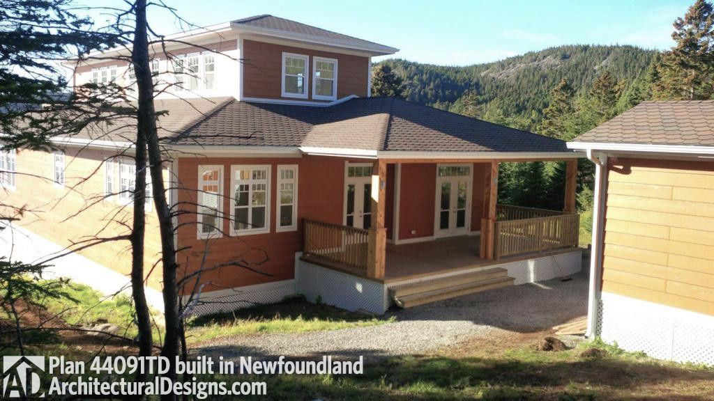 House Plan 44091td Comes To Life In Newfoundland House Plans Architecture Design House