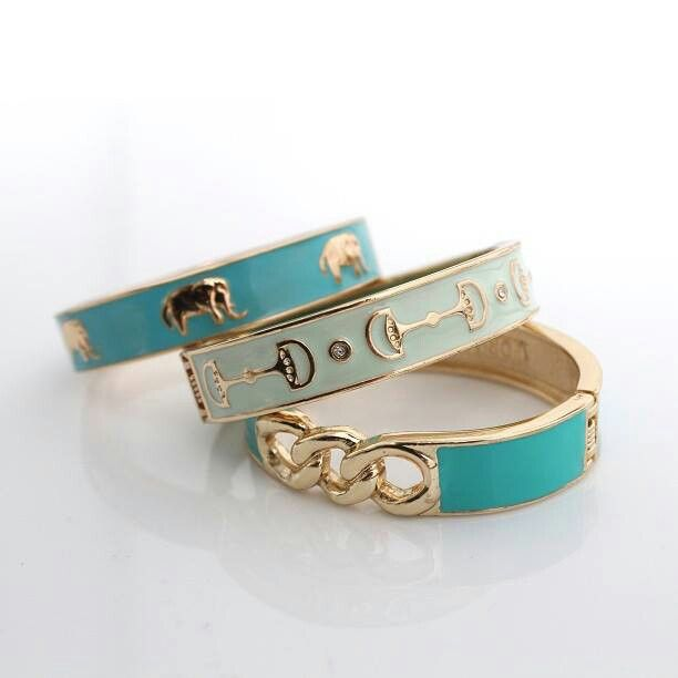 I pinned these bangles a long time ago but still love them.