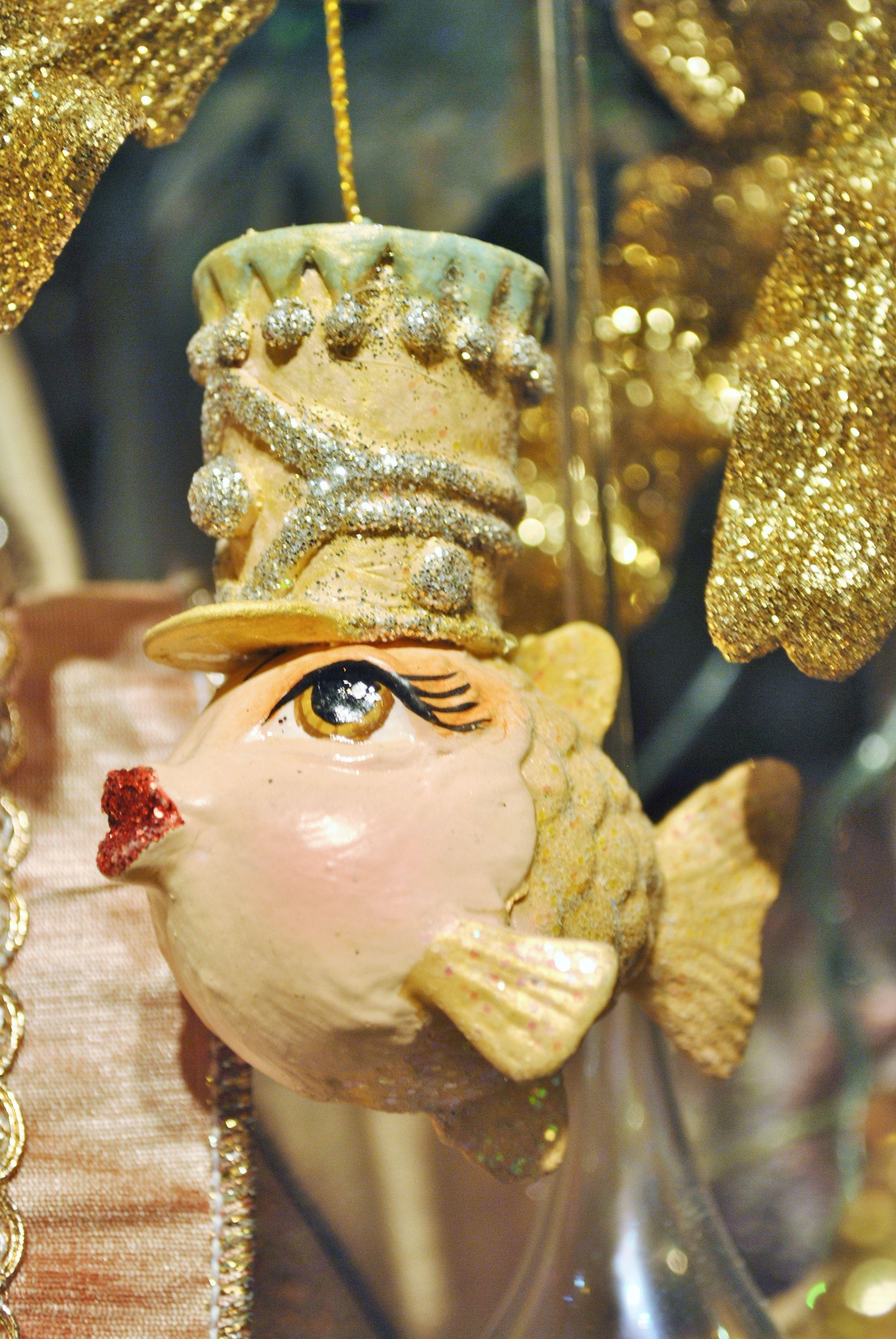 ballerina collection by goodwill belgium fish ornament beach