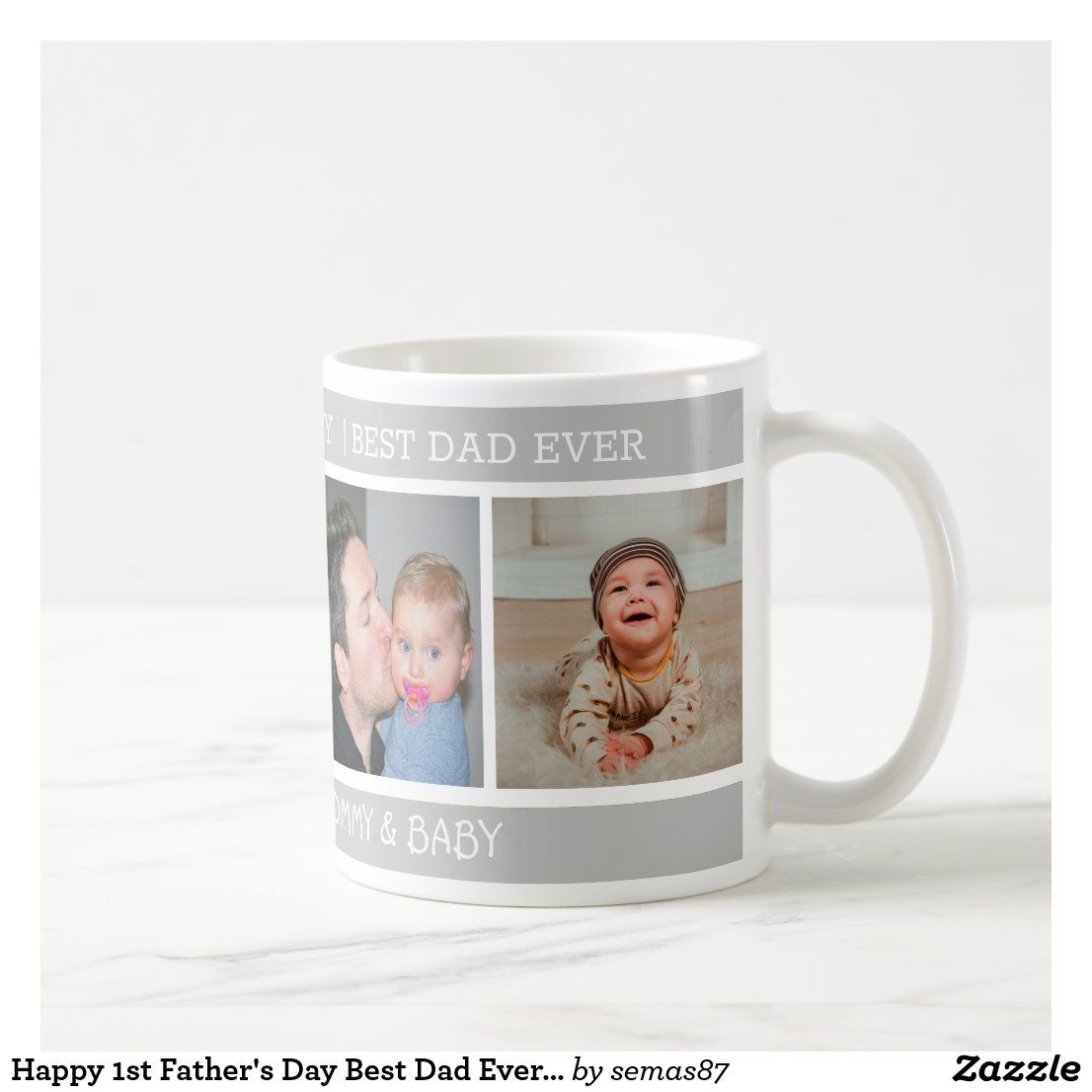 Happy 1st Father/'s Day Novelty Gift Mug