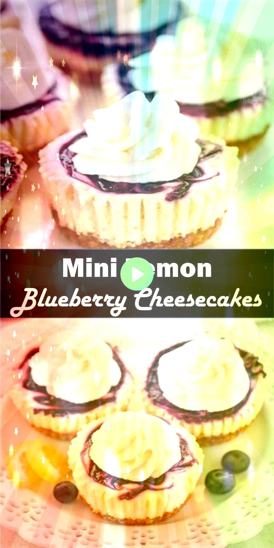 #cheesecakerecipes #bestveganrecipes #cheesecakes #cheesecake #delicious #blueberry #homemade #feature #filling #cracker #recipes #dessert #special #healthy #simpleDelicious and healthy family choice special food and drink Mini Lemon Blueberry Cheesecakes These Mini Lemon Blueberry Cheesecakes feature an easy homemade graham cracker crust, smooth and creamy lemon cheesecake filling, and a simple blueberry swirl!Delicious and healthy family choice special food and drink Mini Lemon Blueberr... #le #lemonblueberrycheesecake