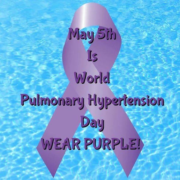 World Pulmonary Hypertension Awareness Day May 5/14 Keep breathing my dear friends