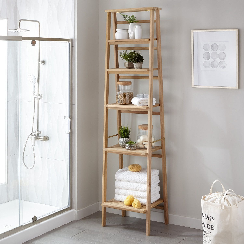 20 Best Bathroom Shelf Design Ideas To Redefine Savvy Storage