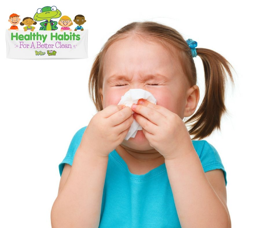 How To Teach Your Child To Blow Their Nose | Children ...
