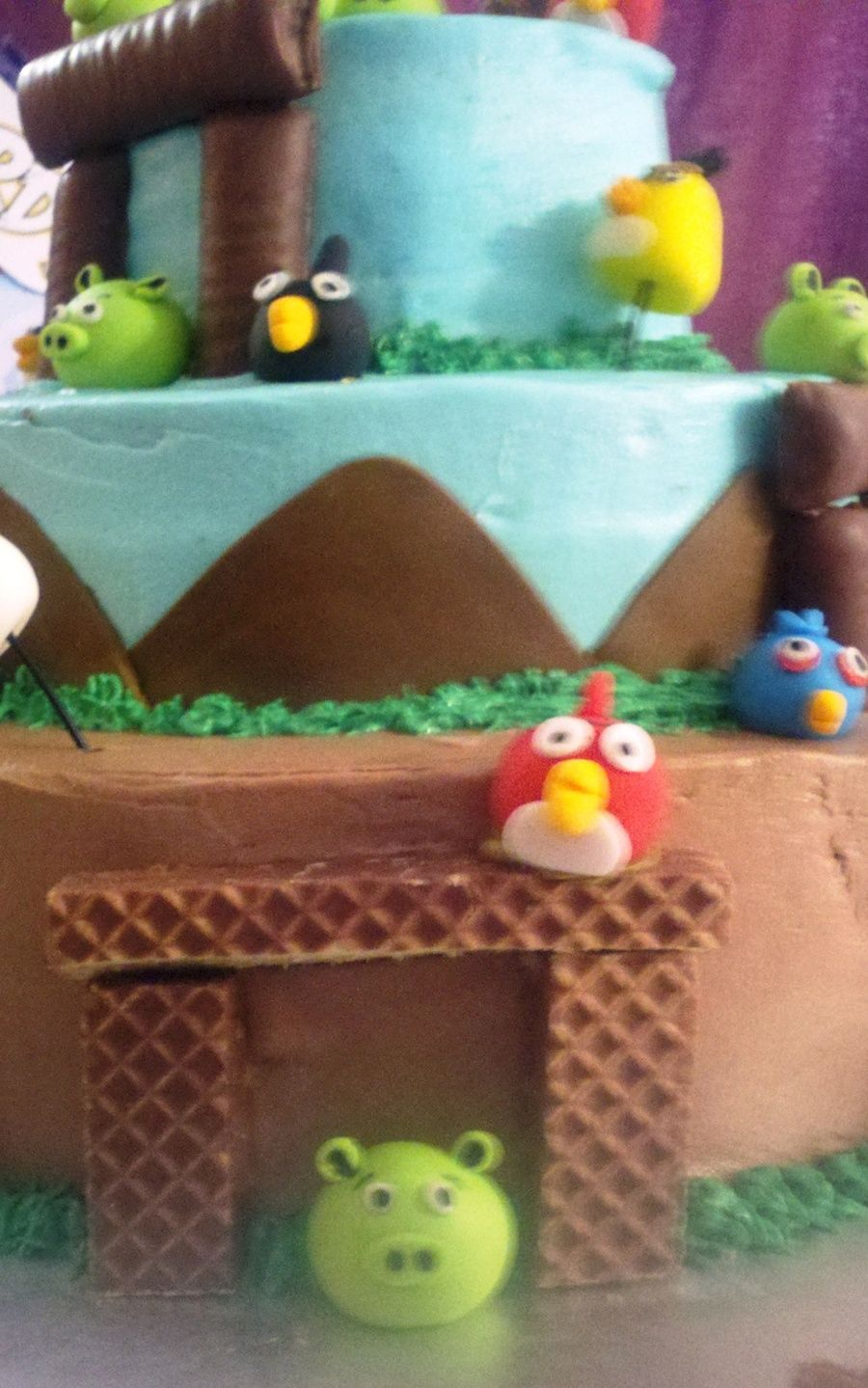 Angry Birds Party Food Pinterest Angry birds Cake structure