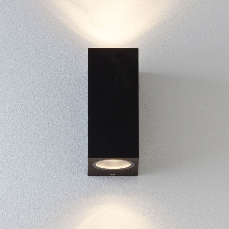 Astro chios 150 twin outdoor wall light black lighting astro chios 150 twin outdoor wall light black aloadofball Image collections