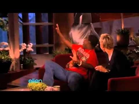 Ellen scaring Celebs...love it!