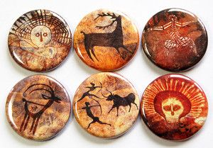 Cave Drawing Magnets