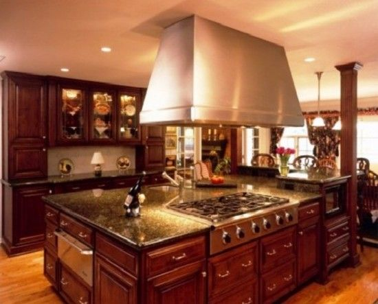 Exclusive Model Of Modern Tuscan Kitchen