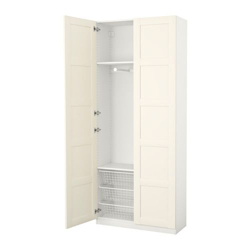ikea pax armoire penderie charni re fermeture silencieuse 100x38x236 cm garantie 10 ans. Black Bedroom Furniture Sets. Home Design Ideas