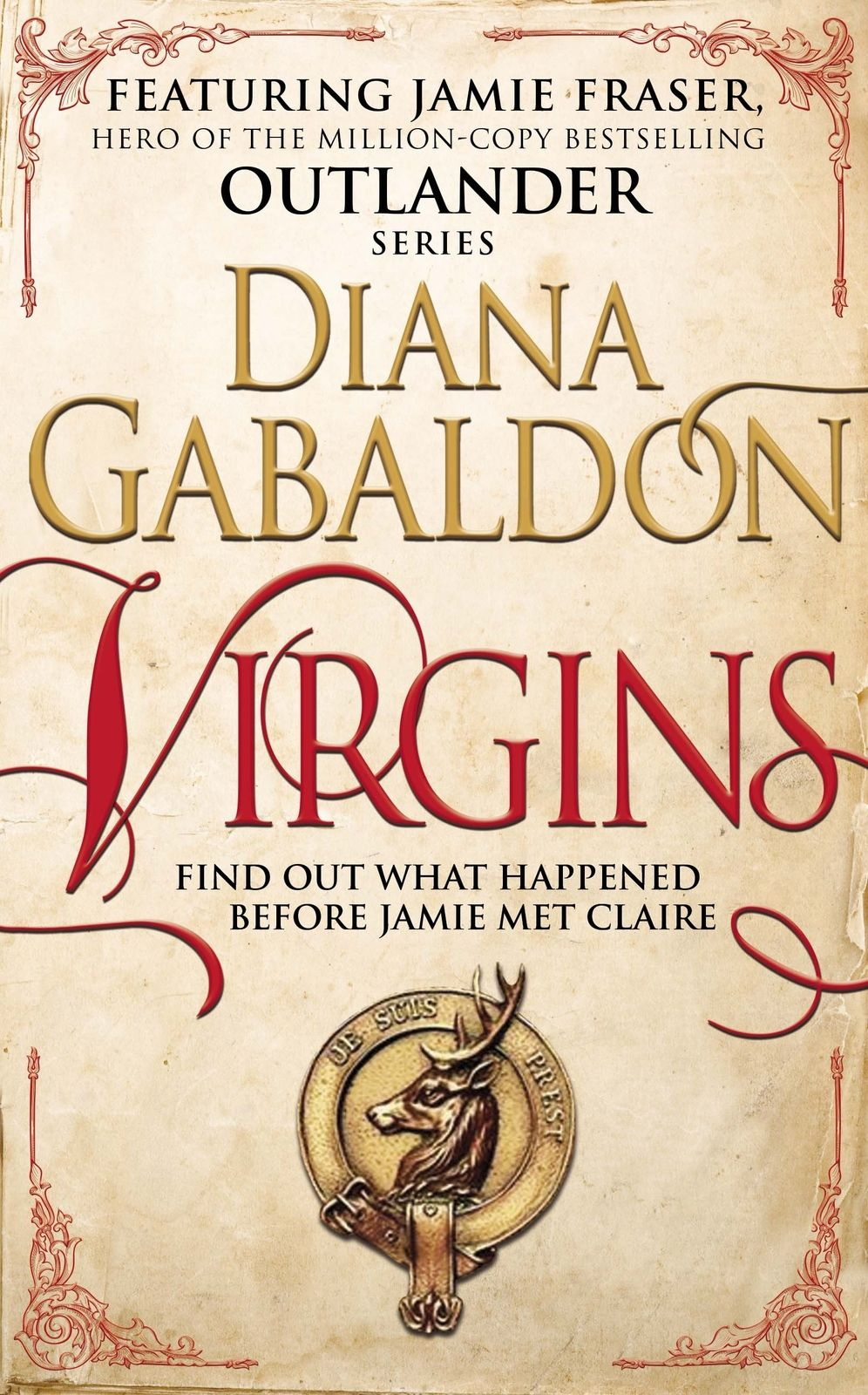 Virgins Image Outlander Diana Gabaldon Outlander Book