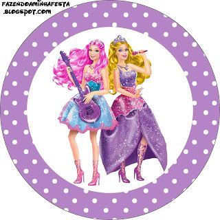 free printables!! Barbie Pop Star