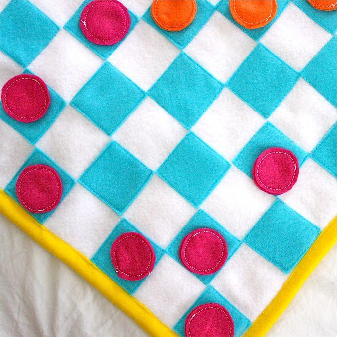 Sewing TUTORIAL: TakeAlong Games | MADE