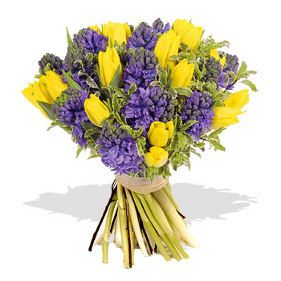 Buy Yellow Tulips W Purple Flowers Bouquet Cebu City Philippines Buy Mix Flower Cebu City Philippines Send Mix Flower Cebu City Philippines Send Flower To Ceb Purple Flower Bouquet Yellow Wedding Flowers Yellow Flower