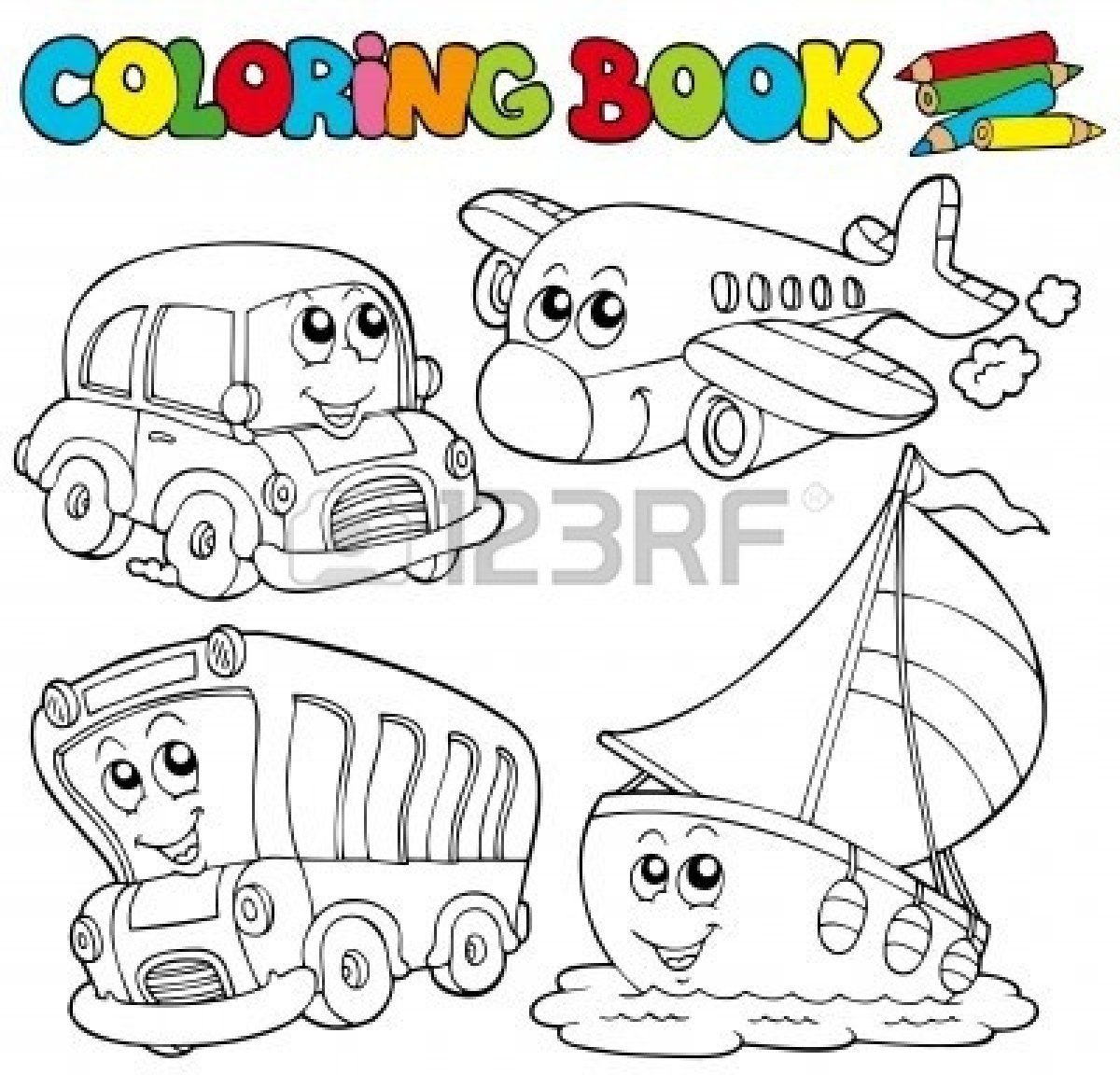 Free Download My Coloring Book For Preschool Early Kindergarten Preschool Books Kindergarten Books Printable Books