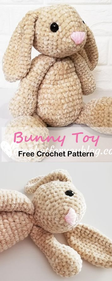 Make a Cute Bunny - Free Pattern