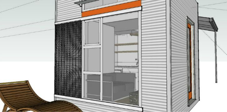 Build Your Own Flat-Pack Micro Nomad Home for Less than $30,00...