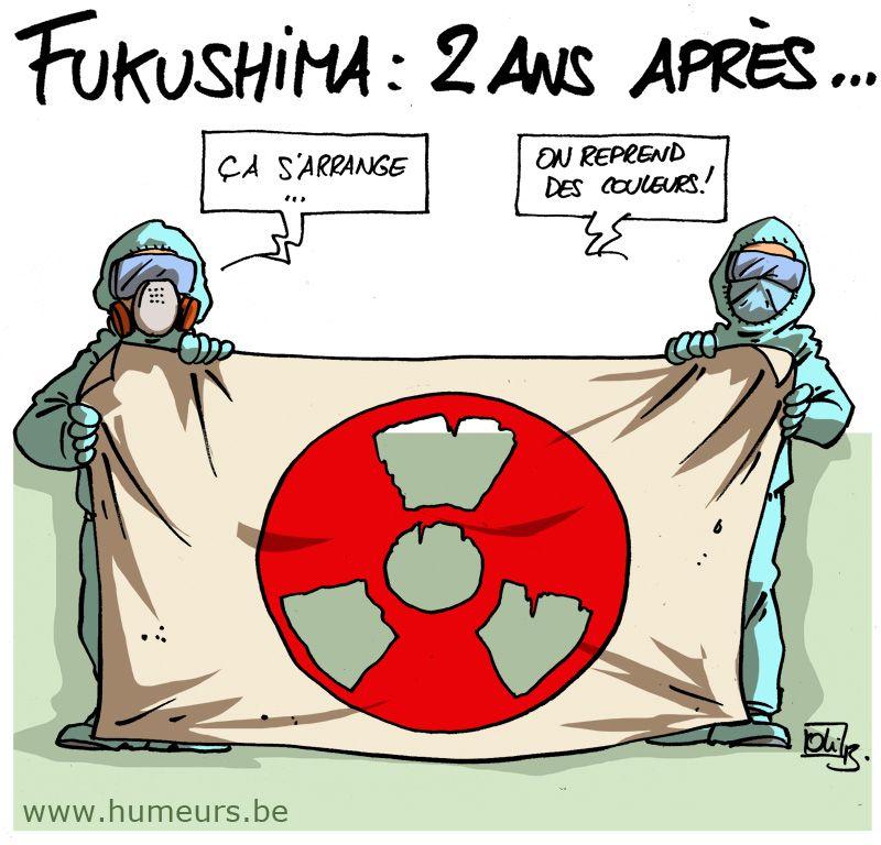 Fukushima : quel bilan 2 ans après ?