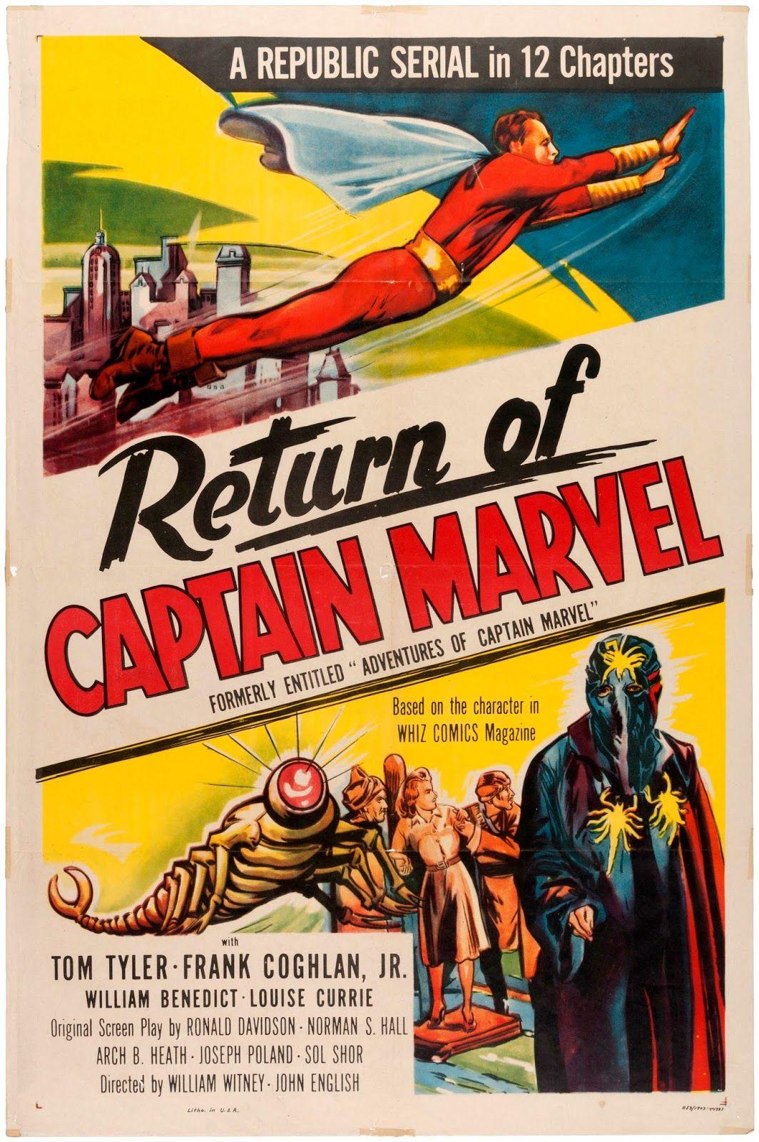 Image result for captain marvel serial