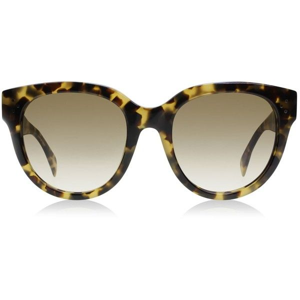 29f77de6bd1f2 Céline Audrey Sunglasses (17.020 RUB) ❤ liked on Polyvore featuring  accessories