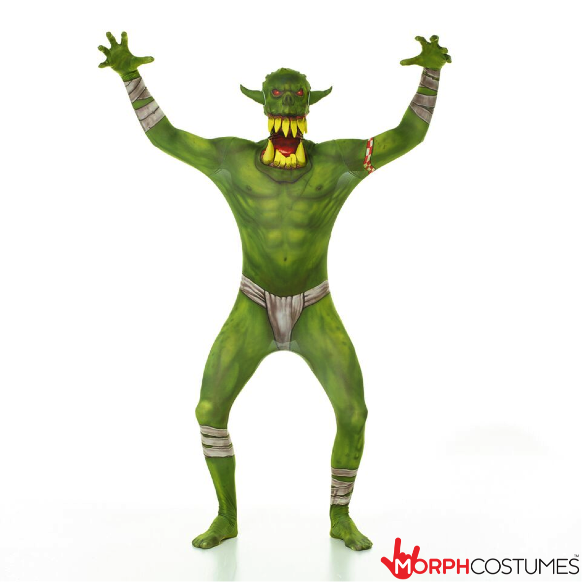 478758adb Jaw Dropper Orc Morphsuit - Green | New Costumes Coming Soon ...