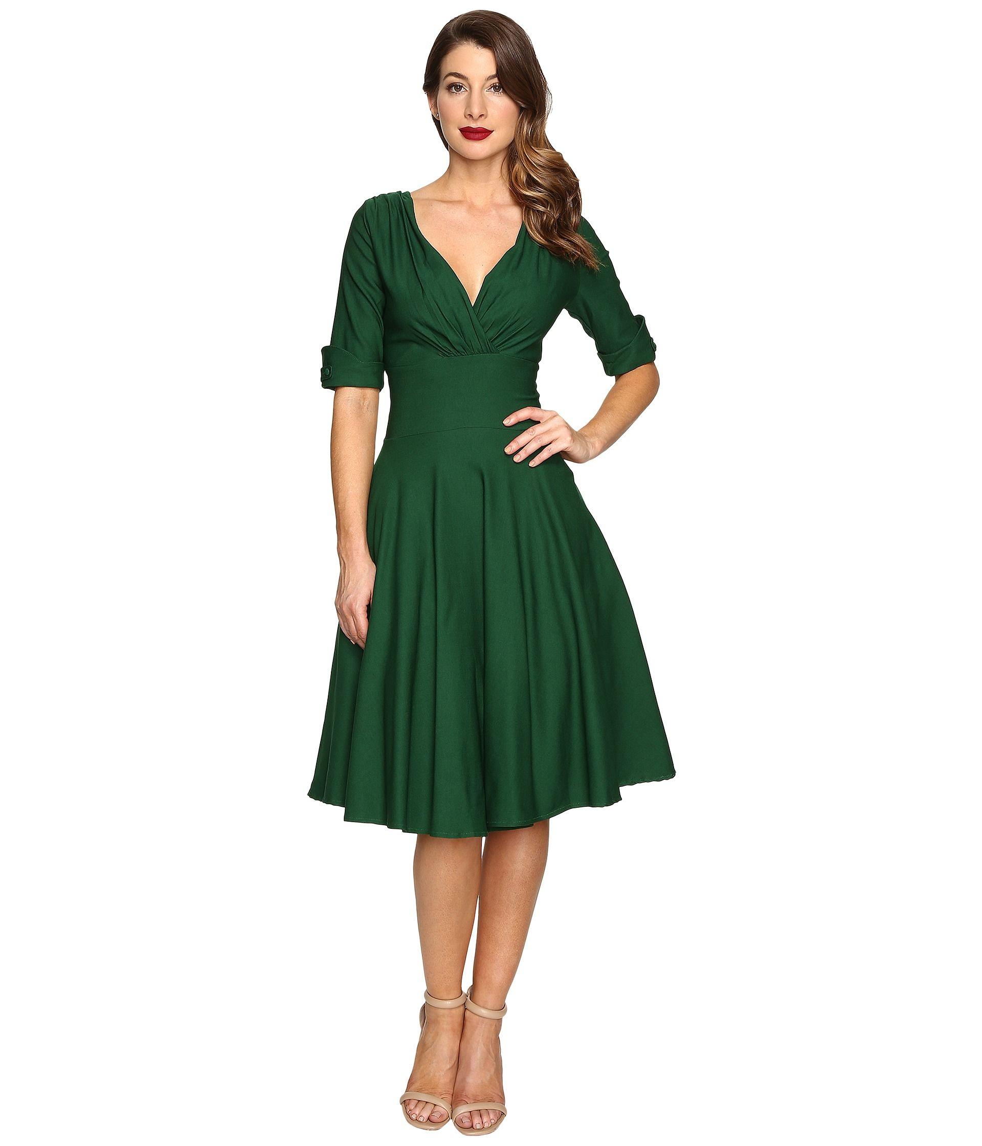 Green dress for wedding  Cora Skinner  Zappos   cora skinner  Pinterest  Unique vintage
