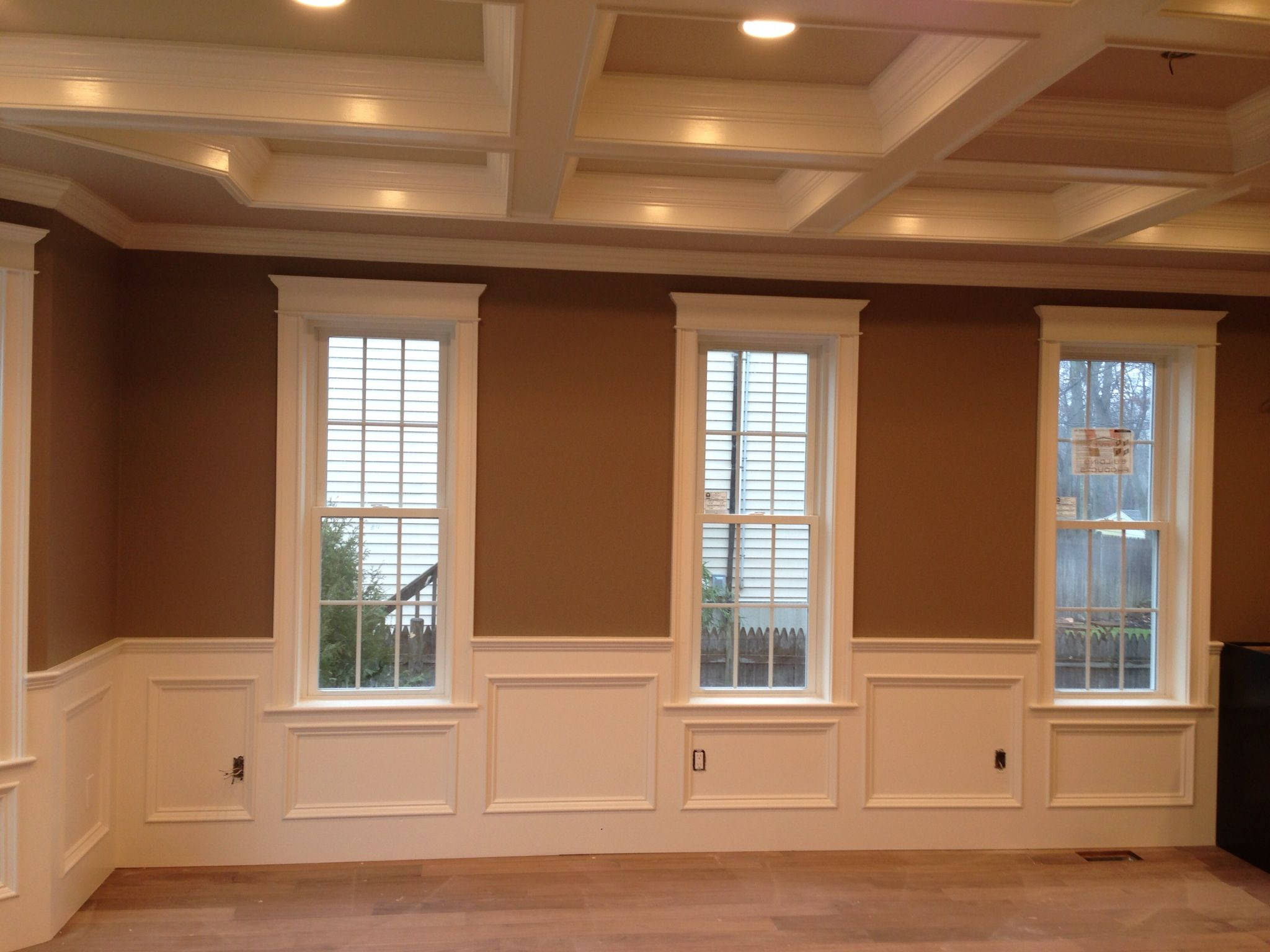 recess panel wainscot. | finish work | pinterest | wainscoting