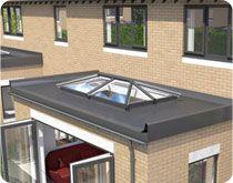 Skypod Skylight On A Flat Roof