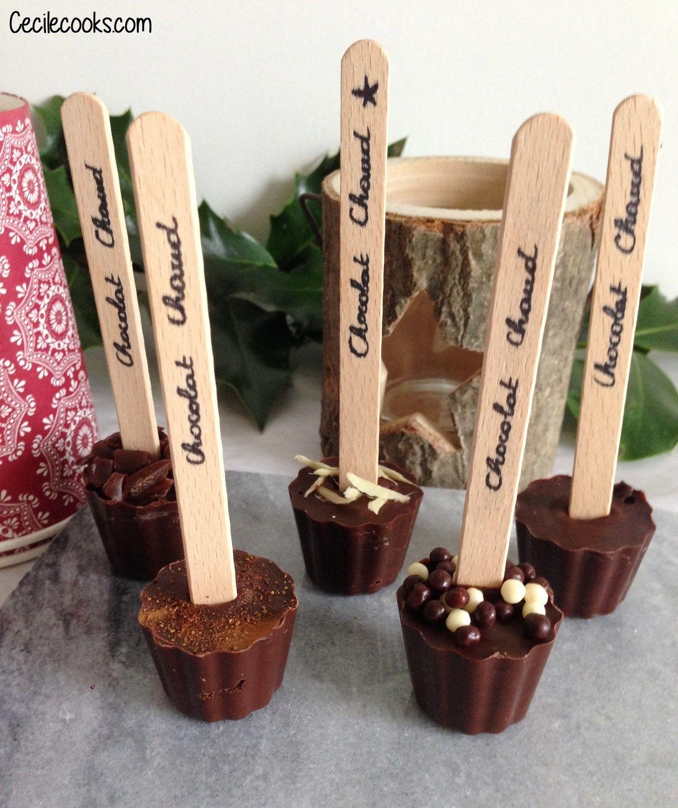 Calendrier De L Avent 11 Sucettes A Chocolat Chaud Sucette Chocolat Chocolat Chaud Recette Noel A Offrir