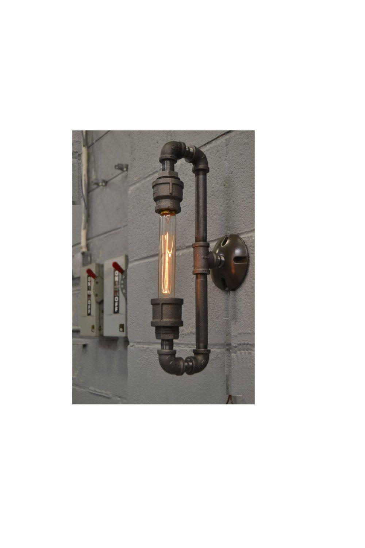 Mur de Steampunk applique Industrial light par WestNinthVintage