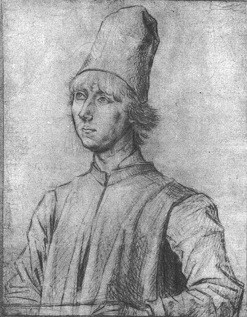 Portrait of a Man, 1462 - Dirk Bouts