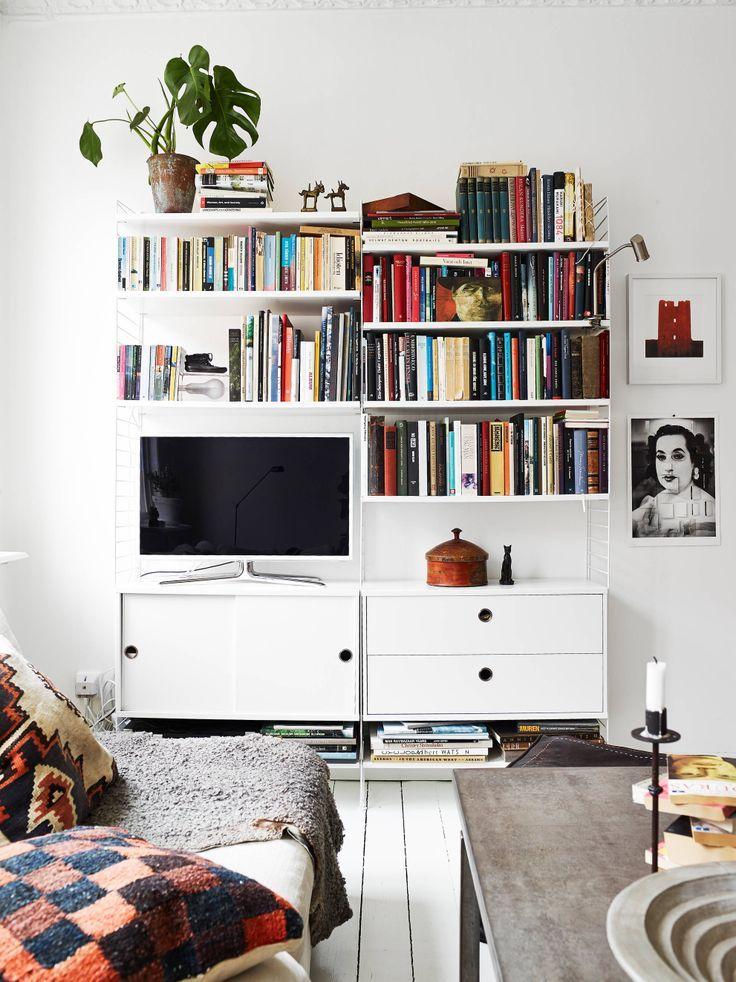 String som tv b nk s k p google interior pinterest for Sala de estar oficina
