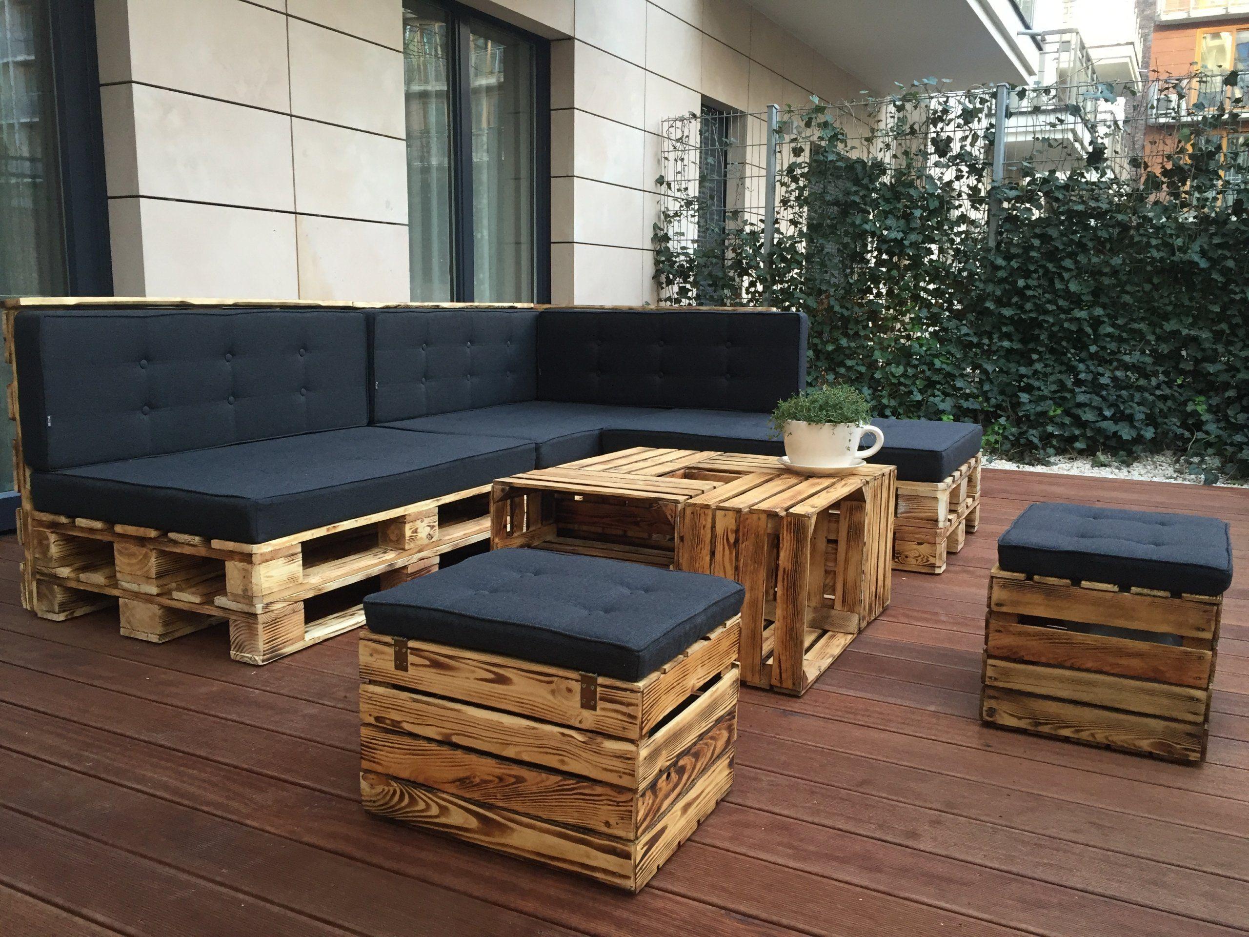 PODUSZKA PODUSZKI MATERAC NA MEBLE z PALET  Taras w 2019  Outdoor furniture sets Outside