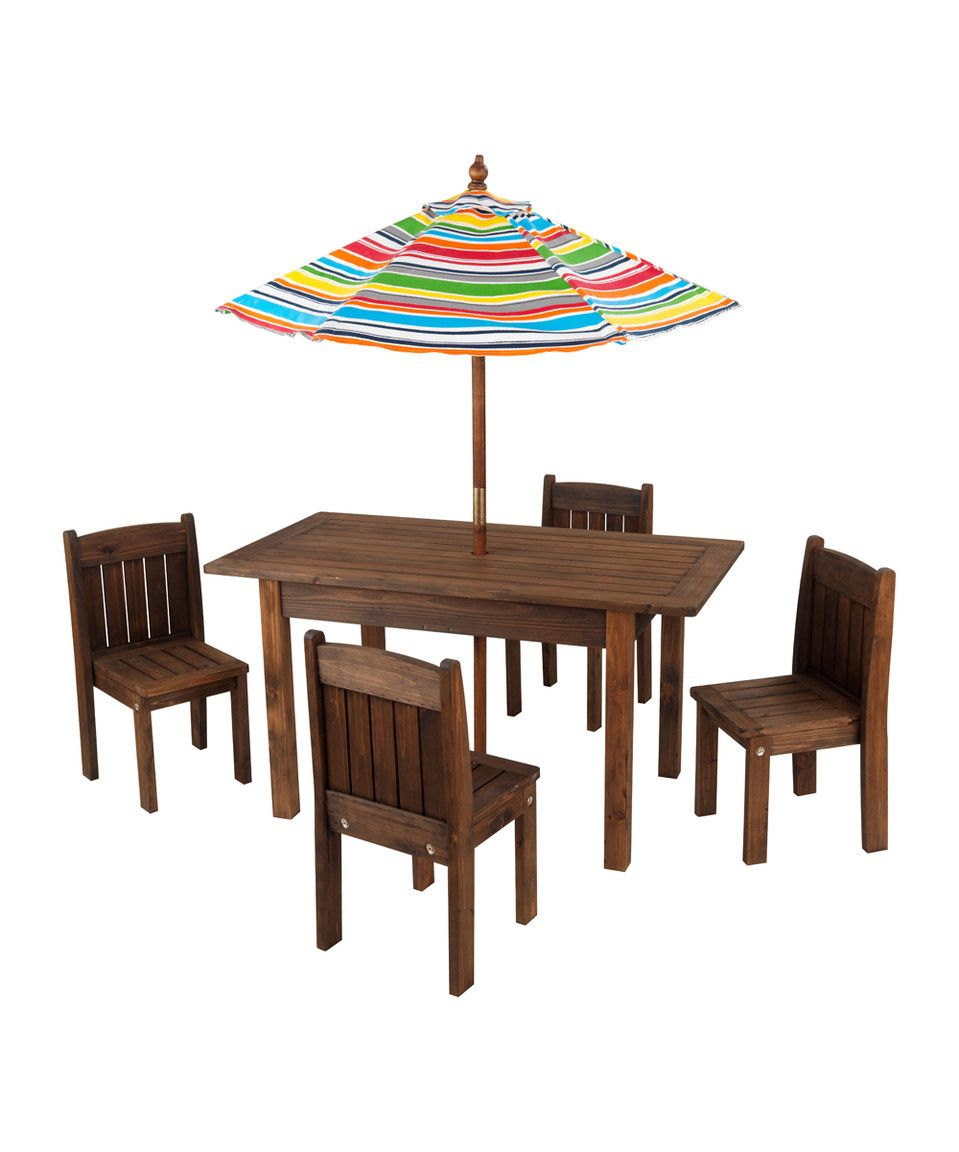 Outstanding Love This Kidkraft Outdoor Stacking Table Chair Set By Andrewgaddart Wooden Chair Designs For Living Room Andrewgaddartcom