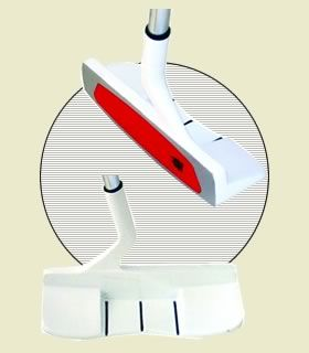 450 gram head weight specially designed to build popular heavy and belly putters.