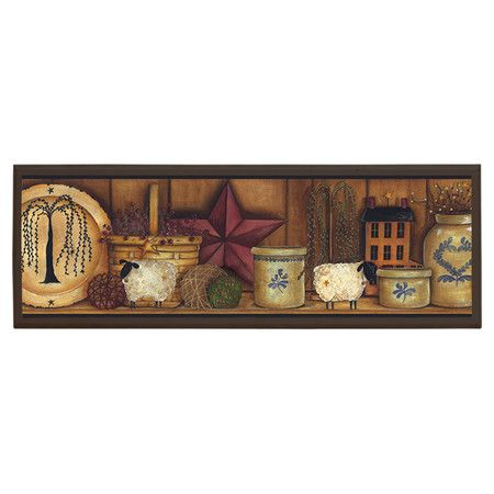 Found it at Wayfair Country Pottery Framed Print Art