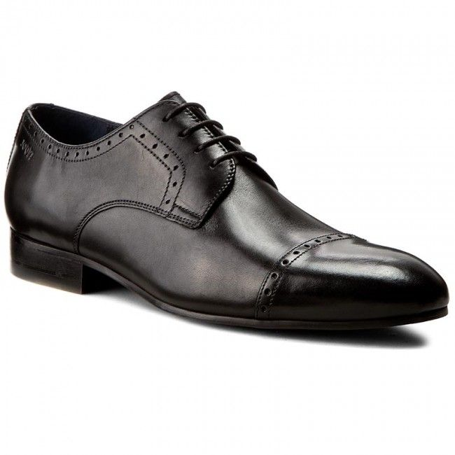 Polbuty Joop Itanos 4140003398 Black 900 Dress Shoes Men Pep Guardiola Style Joop