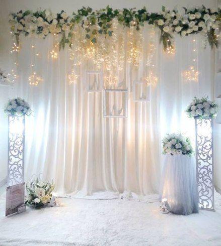 dekorasi akad nikah dekorasi pernikahan minimalis
