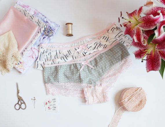 Bryony Modern French Knickers Sewing Pattern for Woven Fabrics PDF ...