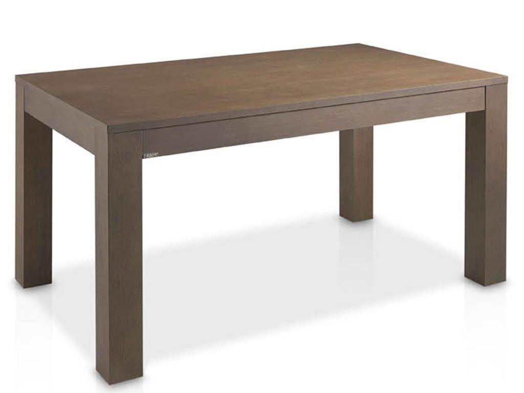 Mesas de comedor extensible fabricada en madera de roble for Mesa comedor 90x90 extensible