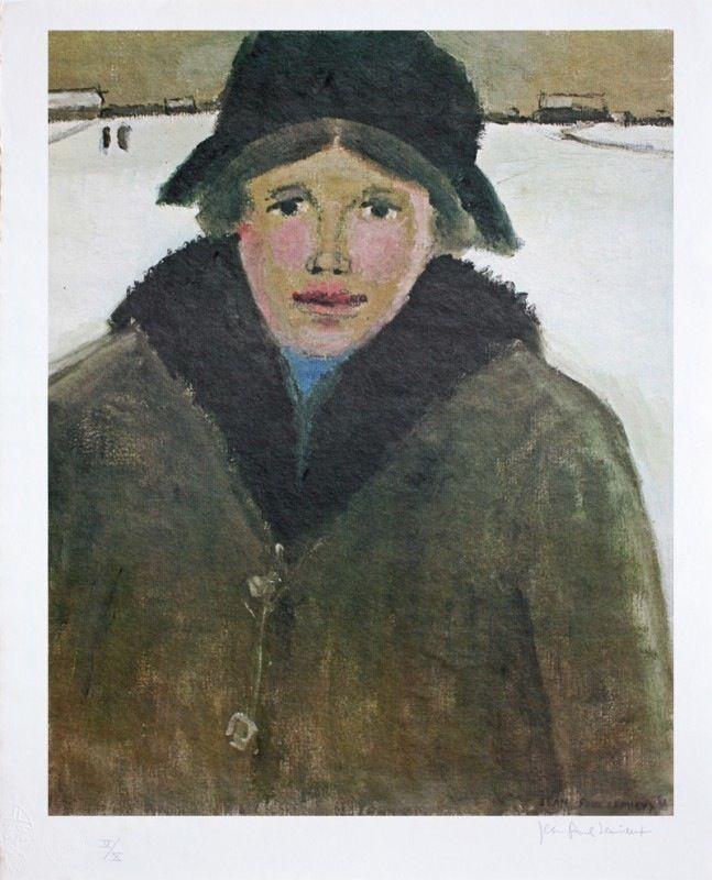 Jean-Paul Lemieux, peintre, Canada. Série Maria Chapdelaine ...
