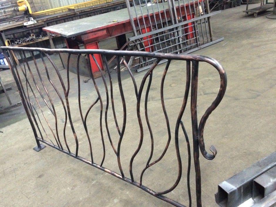 Le forgeron rampe fer forg ornemental escalier pinterest rampe fer forg rampe escalier for Balustrade fer forge