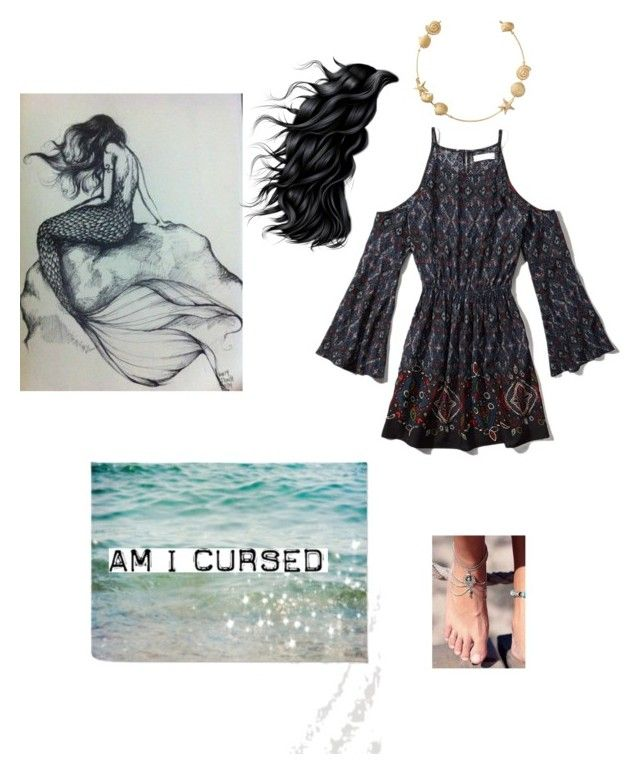 """""""The Mermaid' s Curse"""" by shinedownsiren ❤ liked on Polyvore featuring Abercrombie & Fitch"""