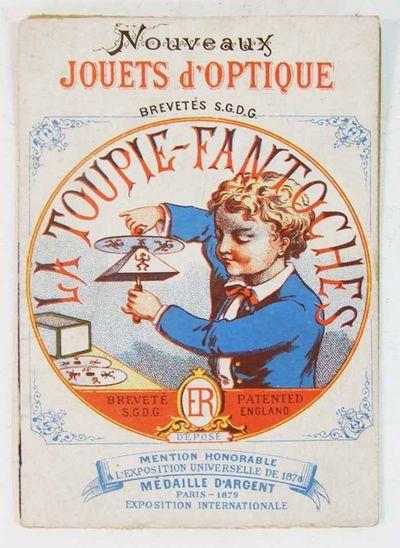 Collection de Pre-cinema de Francois Binetruy, Versailles: CHROMO TOUPIE FANTOCHE